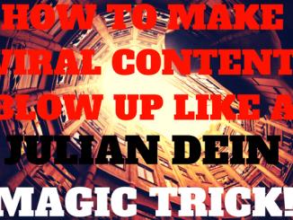 Julian Dein Magic Trick