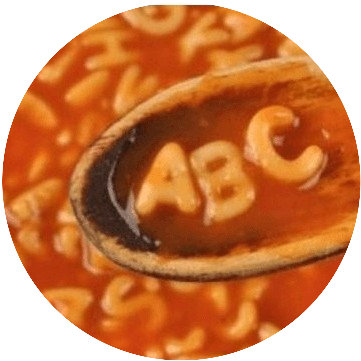 Alphabet soup image shared under Creative Commons Licence version 4.0 Image created by Peter James Thomas at Peterjamesthomas.com/2017/01/10/alphabet-soup/