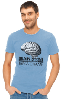 Brain Sprint t-shirt
