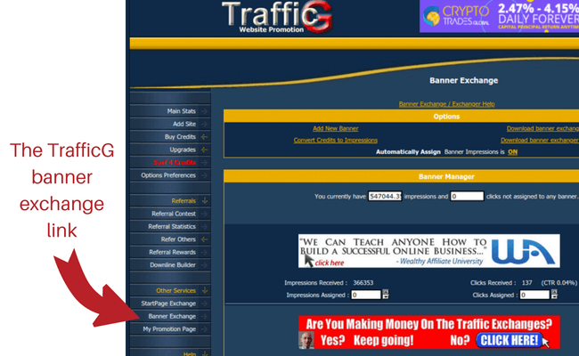 How To Post Banner Ads On A Free Banner Advertising Exchange -