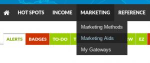 SFI Marketing Aids link
