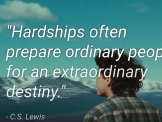 C S Lewis extraordinary destiny